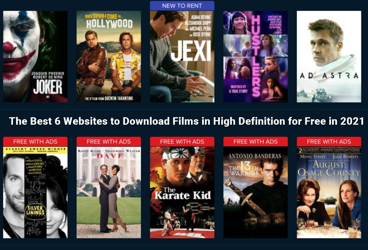 The Best 6 Websites to Download Films in High Definition for Free in 2021-Articledesk.net